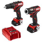 PWR CORE 12™ Brushless 12V Drill Driver & Impact Driver Kit (2 batteries)
