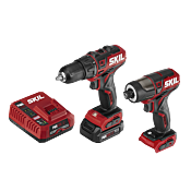 PWR CORE 12™ Brushless 12V Drill Driver & Impact Driver Kit