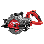 7-1/4 IN. TRUEHVL™ CORDLESS WORM DRIVE SKILSAW WITH DIABLO BLADE, TOOL ONLY
