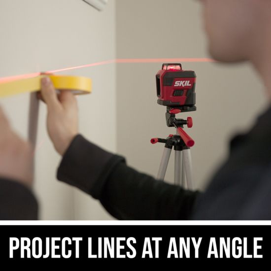 Project lines at any angle