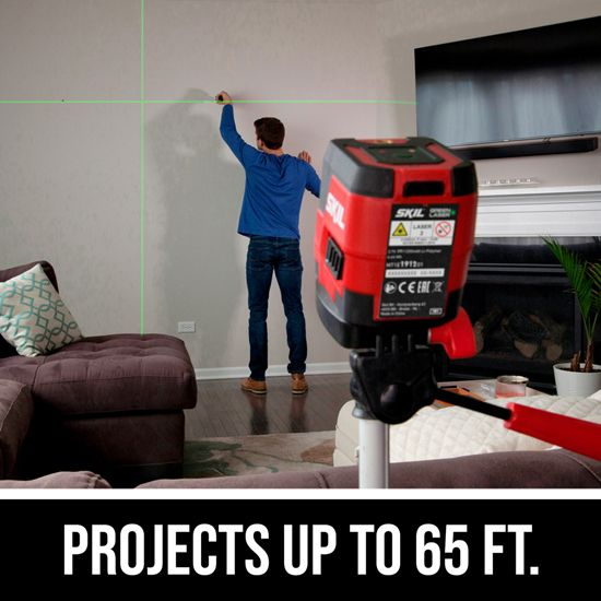 Projects up to 65 Ft.