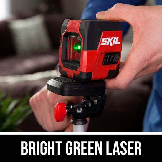 Bright Green Laser