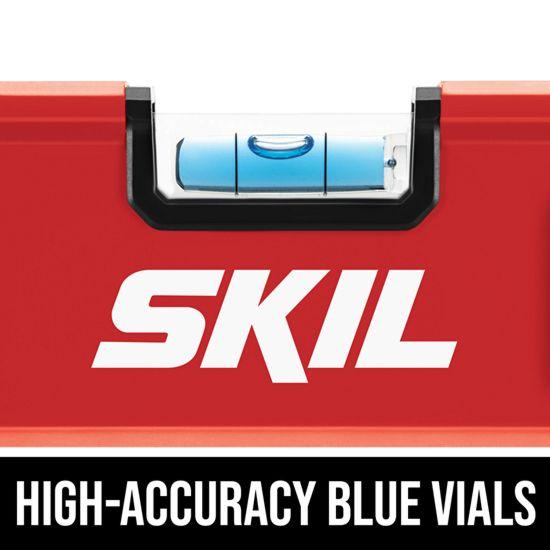 High-accuracy blue vials