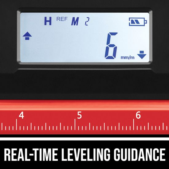 Real-time leveling guidance