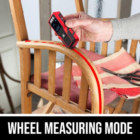 Wheel measuring mode