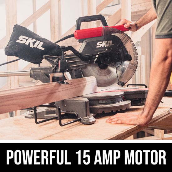Powerful 15 Amp motor