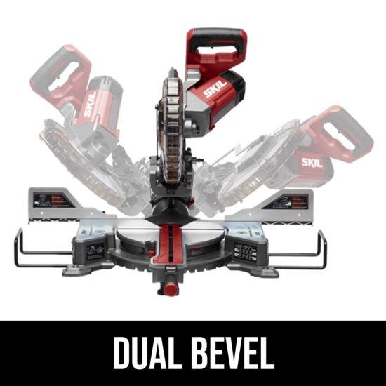 Dual bevel