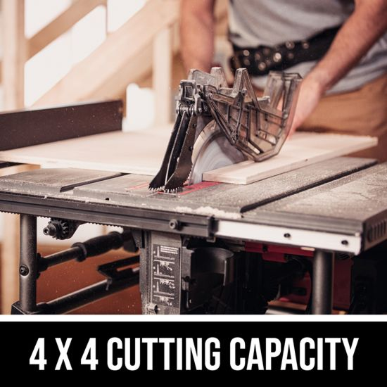 4 X 4 cutting capacity