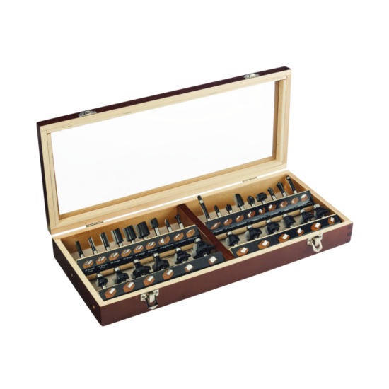 30-Piece Router Bit Set