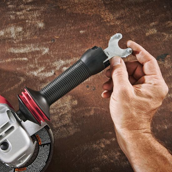 4-1/2 IN. Paddle Switch Angle Grinder