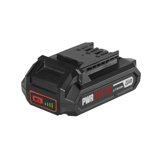PWR CORE 20™ 20V 2.5Ah Lithium Battery