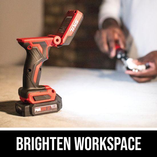 Brighten workspace