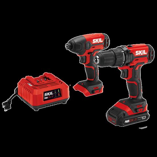 20V Drill Driver & Impact Driver Kit