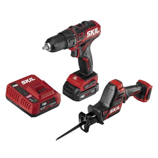 PWR CORE 12™ Brushless 12V Drill Driver & Reciprocating Saw Kit