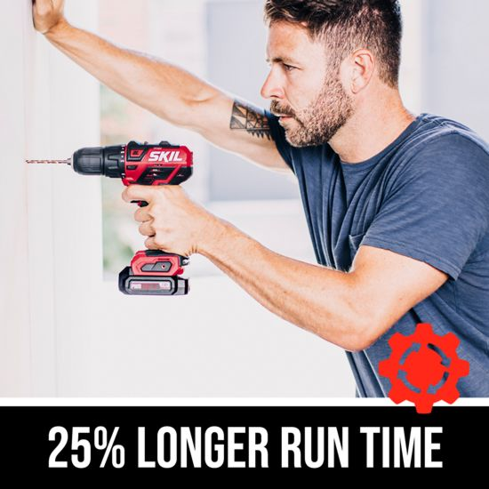 25% longer run time