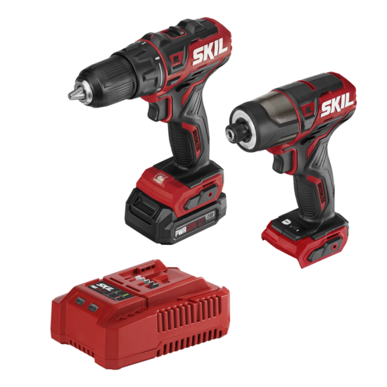 PWR CORE 12™ Brushless 12V Drill Driver and Impact Driver with Battery and Charger