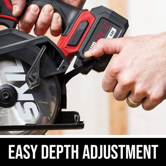 Easy depth adjustment