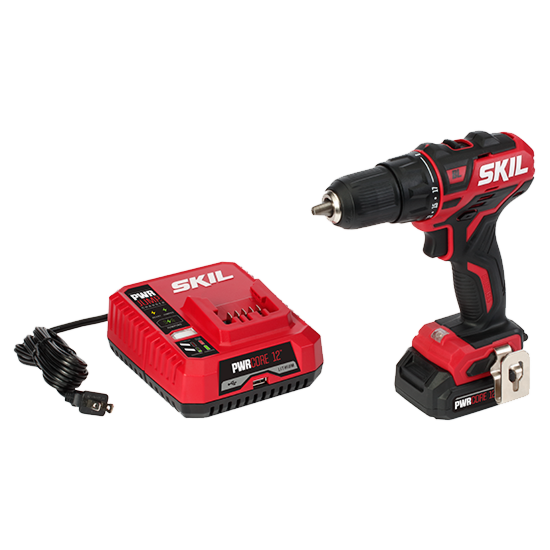 PWR CORE 12™ Brushless 12V 1/2'' Cordless Drill Driver Kit with PWR JUMP™ Charger