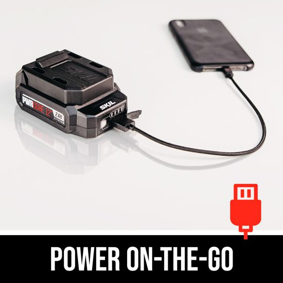 Power on-the-go