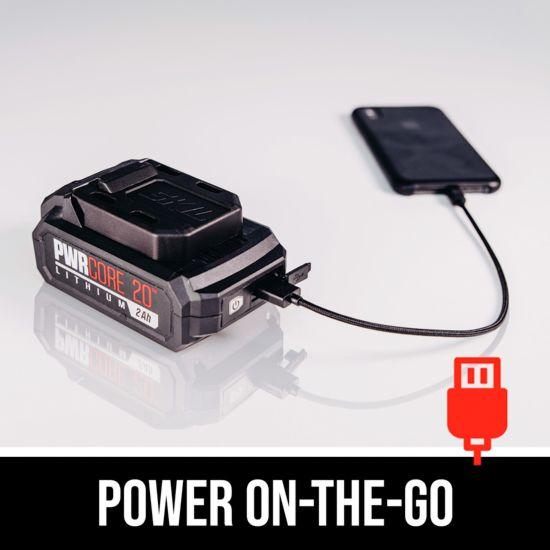 Power on-the-go
