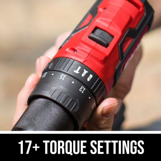 17+ torque settings