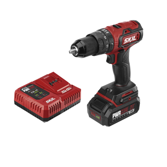 PWR CORE 20™ Brushless 20V 1/2 IN. Hammer Drill Kit