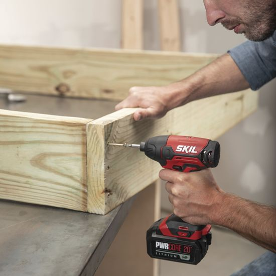 PWR CORE 20™ 20V 1/4 IN. Hex Impact Driver Kit