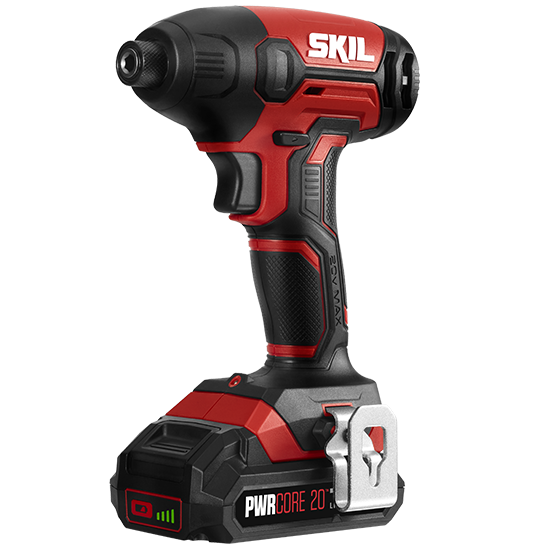 20V 1/4'' Hex Impact Driver Kit with PWR Core 20™ 2.0Ah Lithium Battery