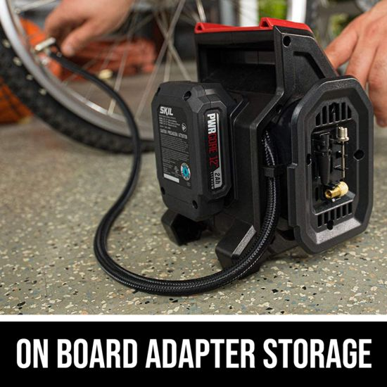 On board adapter storage