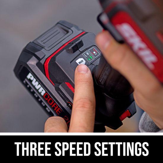 Three speed settings