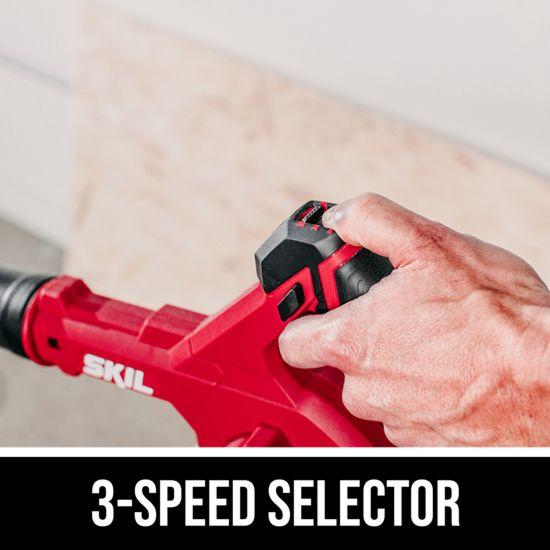 3-speed selector