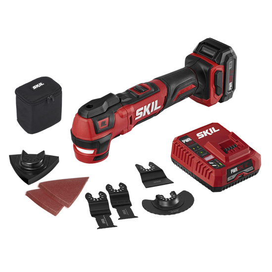PWR CORE 12™ Brushless 12V Oscillating Multi-Tool Kit