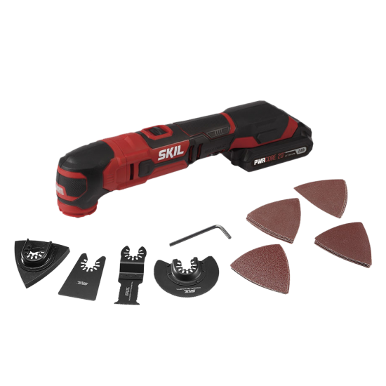 PWR CORE 20™ 20V Oscillating Multi-Tool Kit