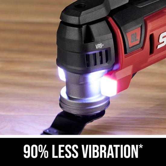 90% less vibration