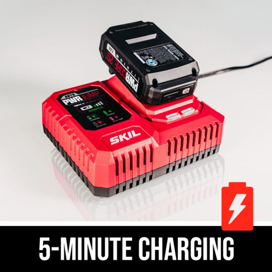 5- minute charging