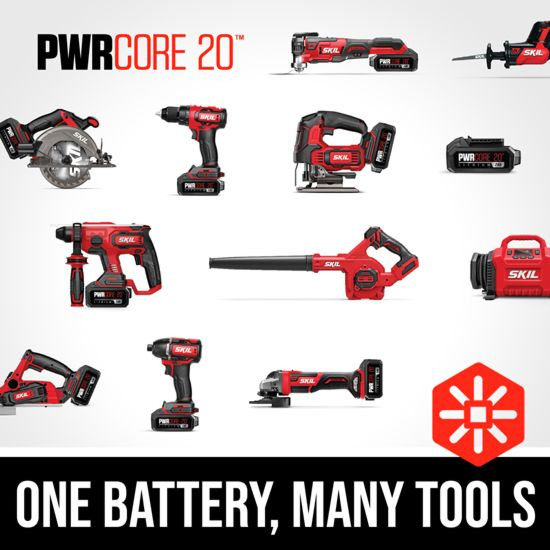 One battery, many tools