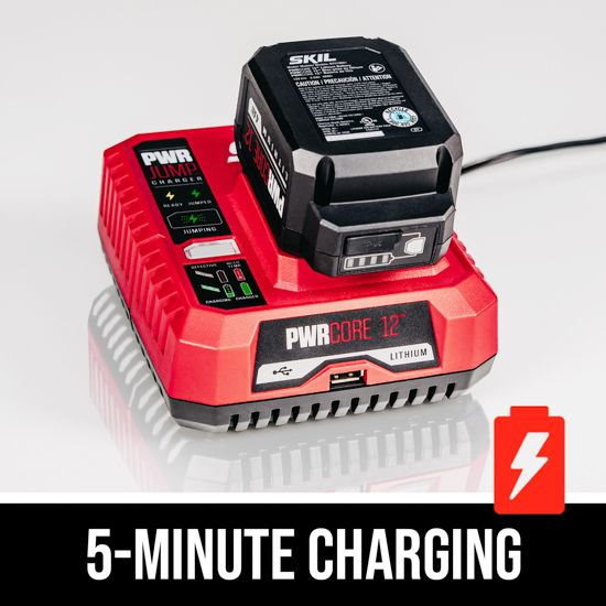 5-minute charging