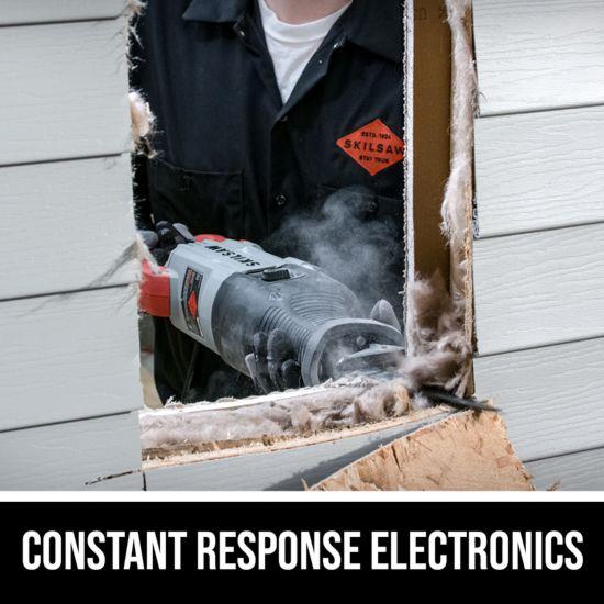Constant response electronics