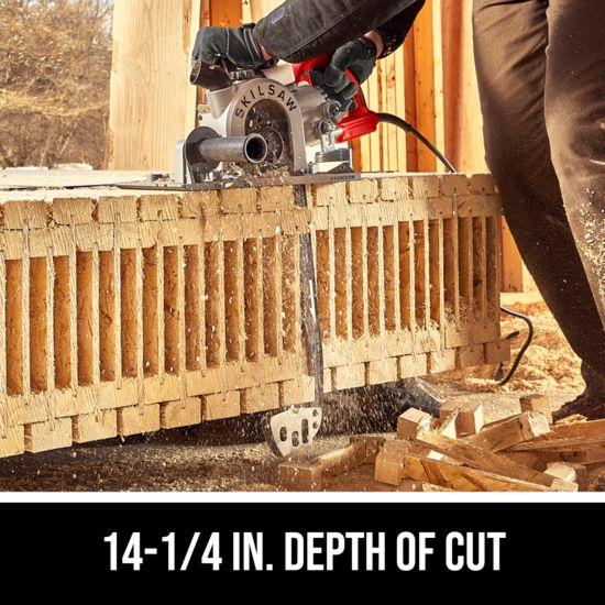 14-1/4 in. depth of cut