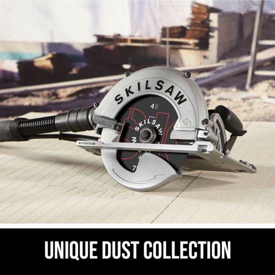 Unique dust collection