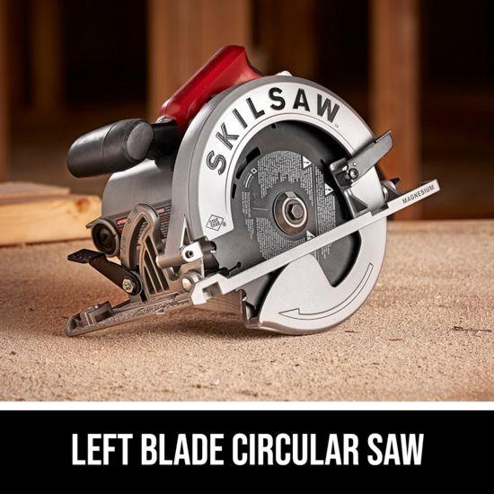 Left blade circular saw