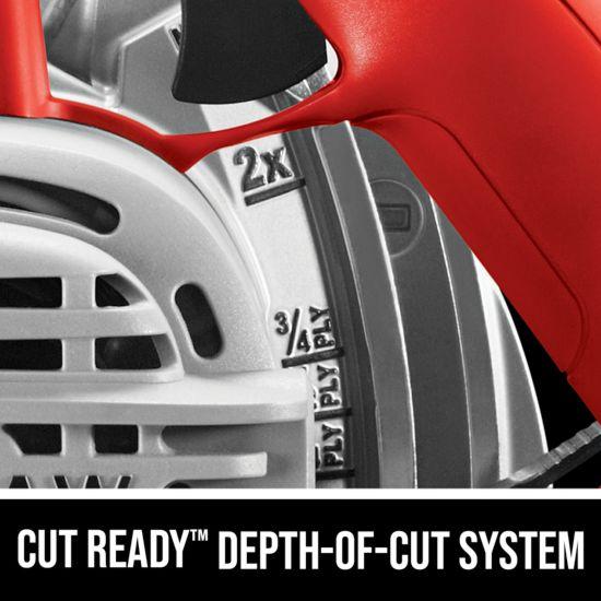 Cut Ready Depth-of-cut system