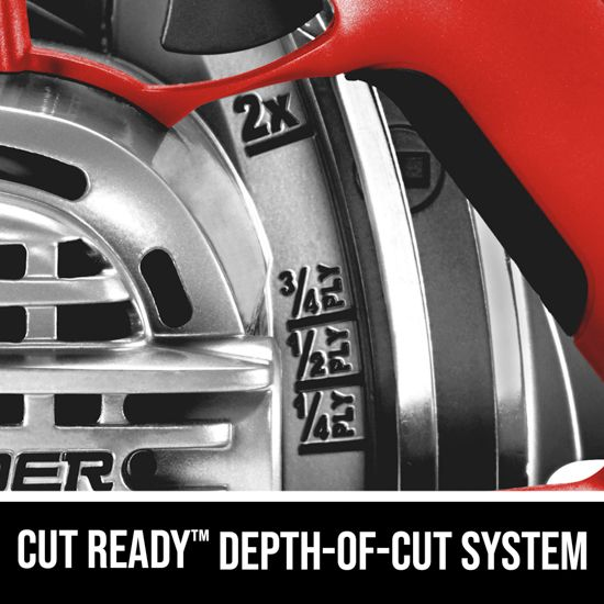 Cut Ready™ Depth-of-Cut System