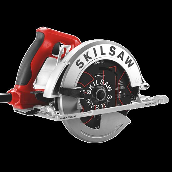 7-1/4 In. Magnesium Sidewinder Skilsaw with Brake with SKIL Blade