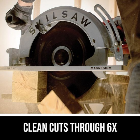 Clean cuts through 6X