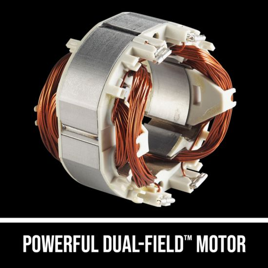 Powerful Dual-Field Motor™