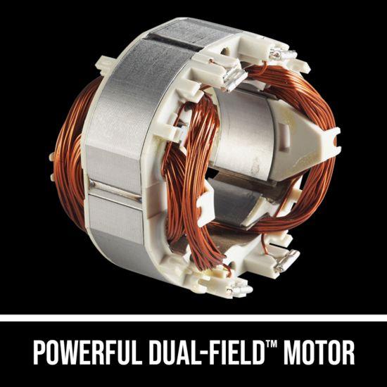 Powerful dual-field motor