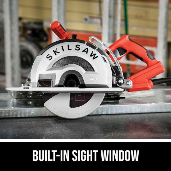 Built-in sight window