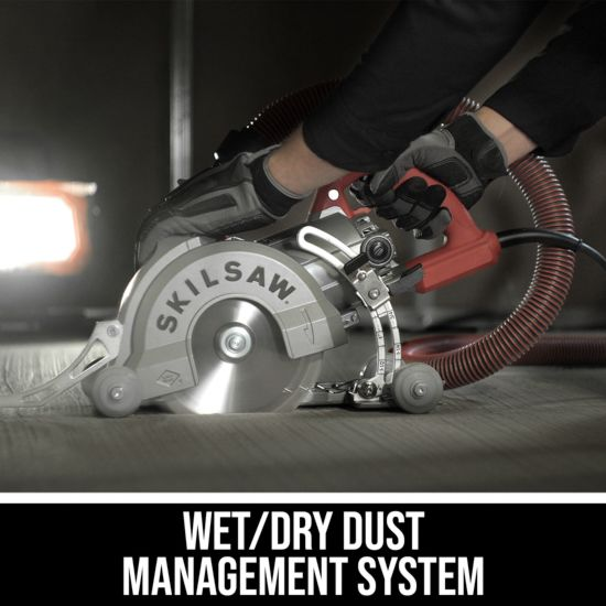 Wet/Dry Dust Management System