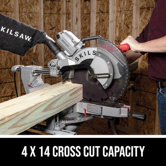 4 x 14 cross cut capacity